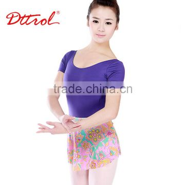 D004794 Fashion women divided skirt chiffon girl mini skirt sexy dance for stage costume