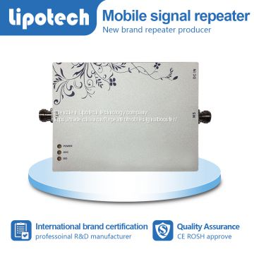 Without dropped calls! high quality and pretty price high gain single band mobile signal repeater