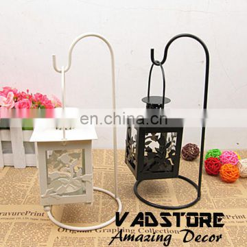 VADH06 vintage retro rose metal candle holder bird cage candle holder Morocco themed candle holder