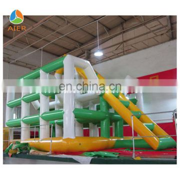 2014 Big inflatable water park equipment, giant inflatable water park games for adult