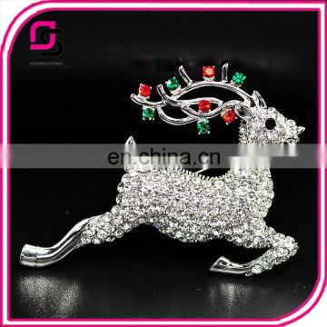 High quality hot sale brooch flashing modern fashion brooch for christmas
