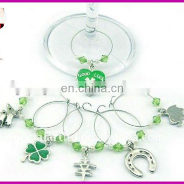 promotional fashion wine charms beautiful for various bottles