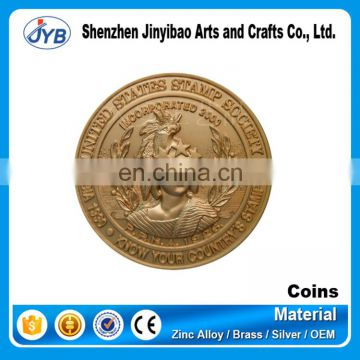 hot sale type custom copy make metal coin with low price