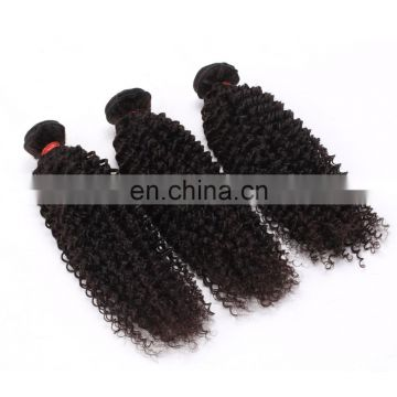 China unprocessed wholesale hair bundle weft afro kinky hair extensions