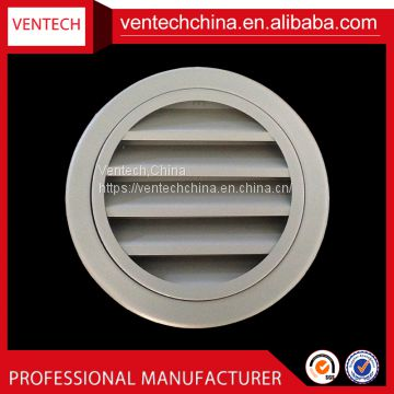 HVAC aluminum round weather louver ceiling diffuser vent factory