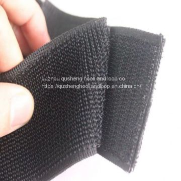 100% Nylon 16mm-300mm Black and White and Other Colors Elastic Loop for Luggage, Wires&Cables and Curtins