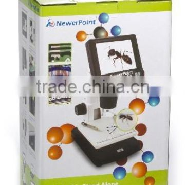 Hot Sell 1200x 5M Standalone LCD Digital Microscope USB Electrical Microscope for Laboratory Diamond
