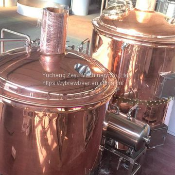 1000L Red Copper Brew House
