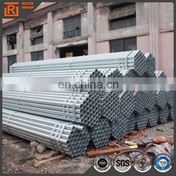 48mm Q195-Q345 pre galvanized steel pipe for greenhouse