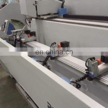 Aluminum doors and windows making machine holes and slots drilling and milling machine with CNC