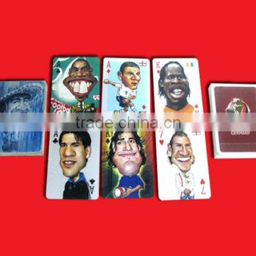 custom plastic Cartoons Poker/gold plated playing cards with box                                                                         Quality Choice