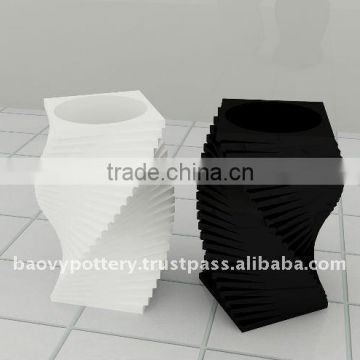 AAD New design fiberglass planter, fiberglass pot, FRP flower pot