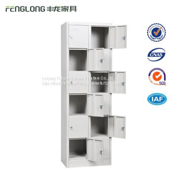 multi doors metal storage furniture 12 door steel locker