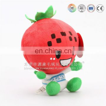 baby education reallike soft vegetables and fruit plush toy