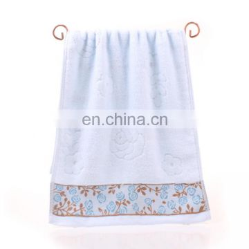 Wholesale custom excellent absorption cotton velour towel
