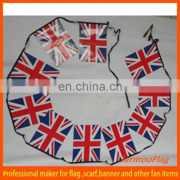 cheap UK paper bunting banner