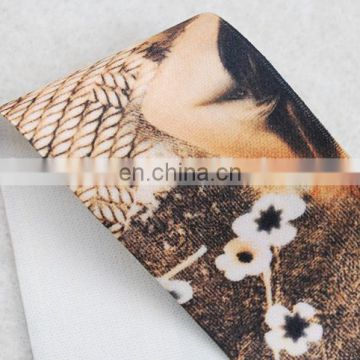 New fashion make it old style printing elastic ribbon