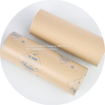 Good Performance VCI wrapping paper for metals, Anti-rust wrapping paper for multi-metals