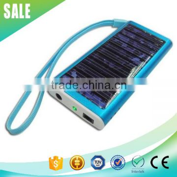 2016 mini 1000mAh portable cell phone solar charger