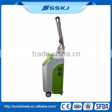 Spot Scar Pigment Removal Big Discount ! 3 Years Warranty For 30 Watt Glass Laser Tube Co2 Fractional Laser Machine Professional