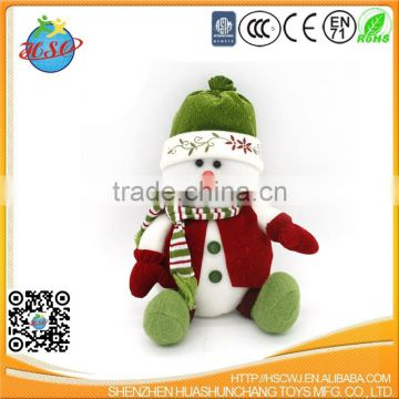 wholesales hight quality snowman stuffed plush toy