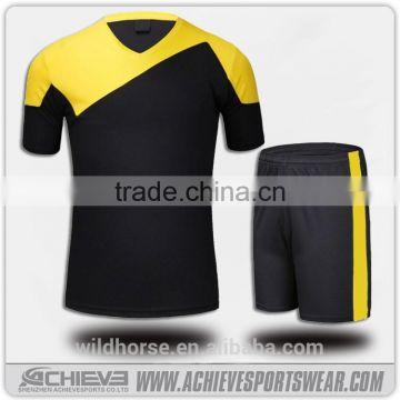 9938b5822 2017 customized cheap soccer jersey set