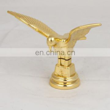Top Grade Classic Gold Dove Figure Metal Cup Trophy Toppers