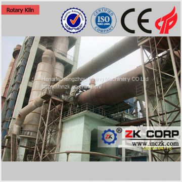 High quality rotary kiln for lime calcination ,dolomite calcination