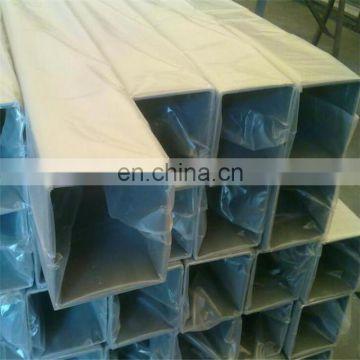 409 439 304 Stainless Square Steel Pipe for constriction