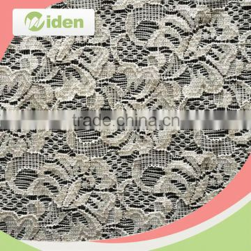 Embroidery cording lace 100% nylon material nigerian net French lace fabric                                                                                                         Supplier's Choice