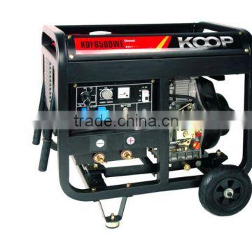 CE Approved Diesel Welding Generator-KDF6500WE of Silent