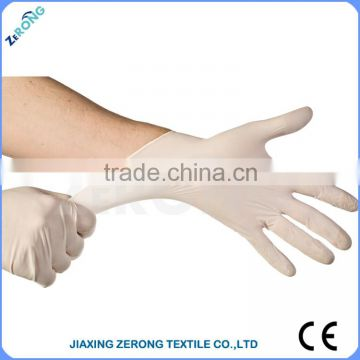 Hot sales medical disposable natural latex examination gloves powder/powder  free latex glove from Malaysia