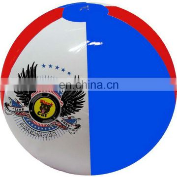 Inflatable promotional beachball