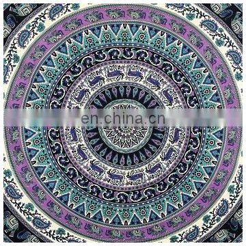 Queen Mandala Tapestry Wall Hanging Bohemian Bedspread Indian Decor Tapestry