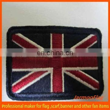 Fabric patch cheap embroidery badge