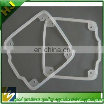 transparent molded silicone gasket