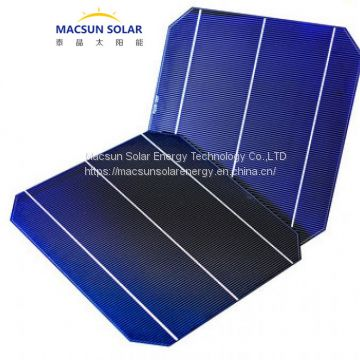 156mm Mono Crystalline Solar Cells