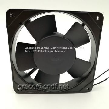 CNDF  made in china factory passed CE test with 2 years warranty 220/240VAC 120x120x25mm ac cooling ventilation fan