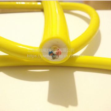High Tension Remotely Operated Vehicle Neutrally Buoyant Floating Cable