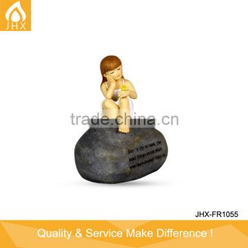 Cute Little Boys And Girls Resin Figurines