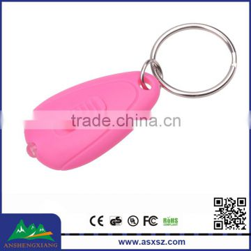 395nm UV Purple Light Cheap Mini LED Flashlight Keychain