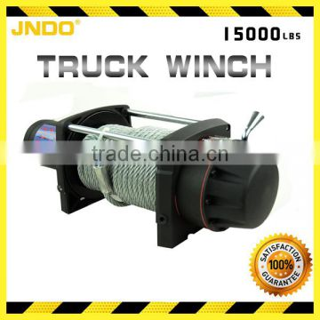 6804kg/15000lbs 12V electric recovery waterproof winch kit for truck