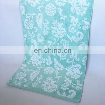 Wholesale custom yarn dyed jacquard 100% cotton towel