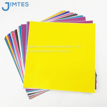 High quality adhesive pvc colors vinyl sticker cutter of color cutting  vinyl material
