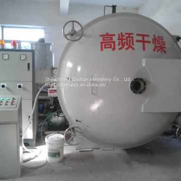 High Frequency HF Wood Seasoning Drying Kiln Machine 10CBM