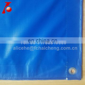 truck tarp cover pvc coated vinyl canvas style 100% waterproof with eyelets