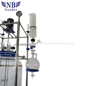 Laboratory Using Jacketed Glass Reactor with Ce