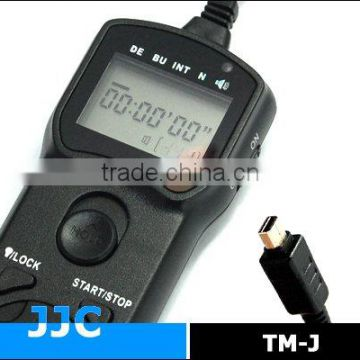 JJC TM-J Timer Remote Control for OLYMPUS RM-UC1 for E-P1 E-P2 E-PL2 XZ-1