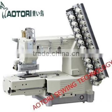 Kansai Special Sewing Machine Fx4412p Type Cylinder Bed 12 Needle Double Chain Stitch Sewing Machine Of Multi Needle Chain Stitch Machine From China Suppliers 114316195