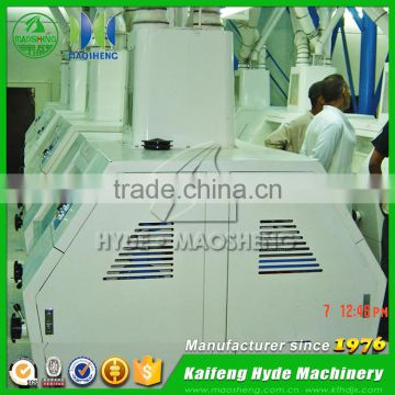 Fully automatic wheat roller flour mill